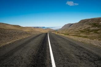Sulla strada tra Bíldudalur e Patreksfjörður