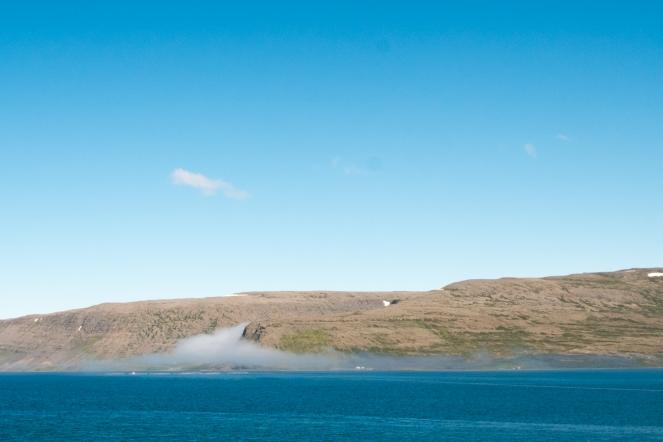 Nuvole vicino Patreksfjörður