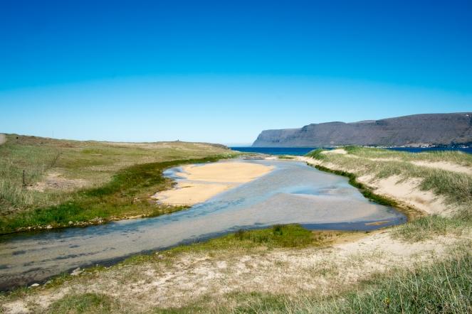 Sulla strada da Patreksfjörður a Látrabjarg