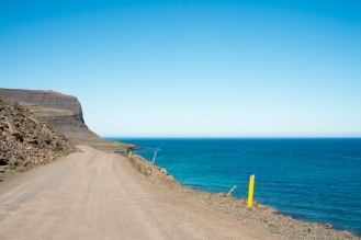 La strada per Látrabjarg