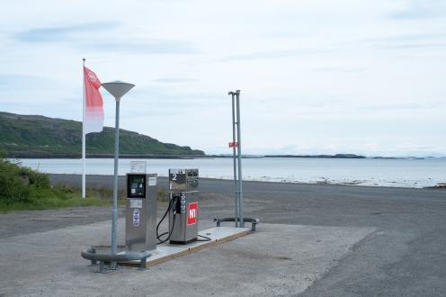 La stazione di servizio di Flókalundur
