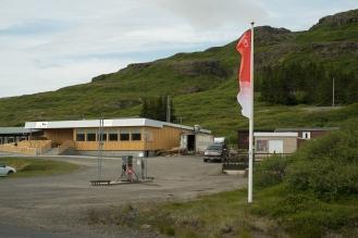 Flókalundur: ristorante/bar/hotel, stazione di servizio, negozio