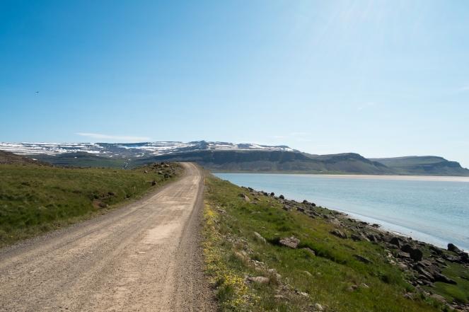 La strada di Rauðasandur