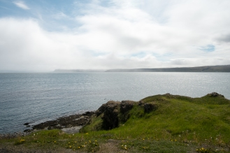 La costa da Drangsnes