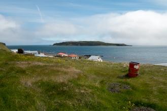 L'isola di Grimsey vista da Drangsnes