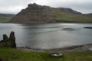 Norðurfjörður, alla fine della strada di Strandir