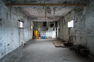 L'ex fabbrica di aringhe a Djúpavík