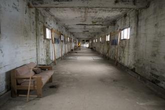 Mostra fotografica Steypa all'ex fabbrica di aringhe a Djúpavík