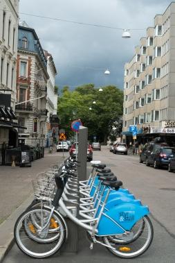Bike sharing a Göteborg