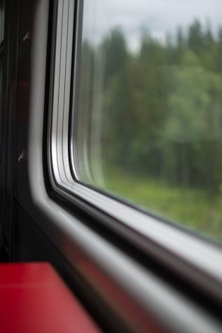 Sul treno da Göteborg a Boden